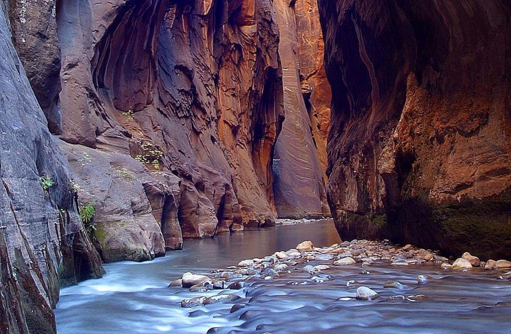 """""""The Narrows' in Zion National Park, Utah"""