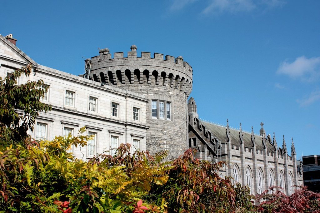 Historic Dublin Castle. Must see in dublin