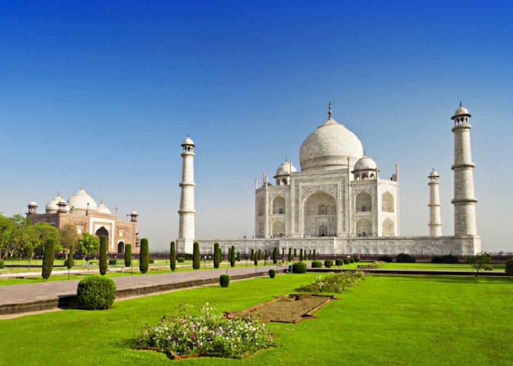 india taj mahal agra, the most beautiful cities in india