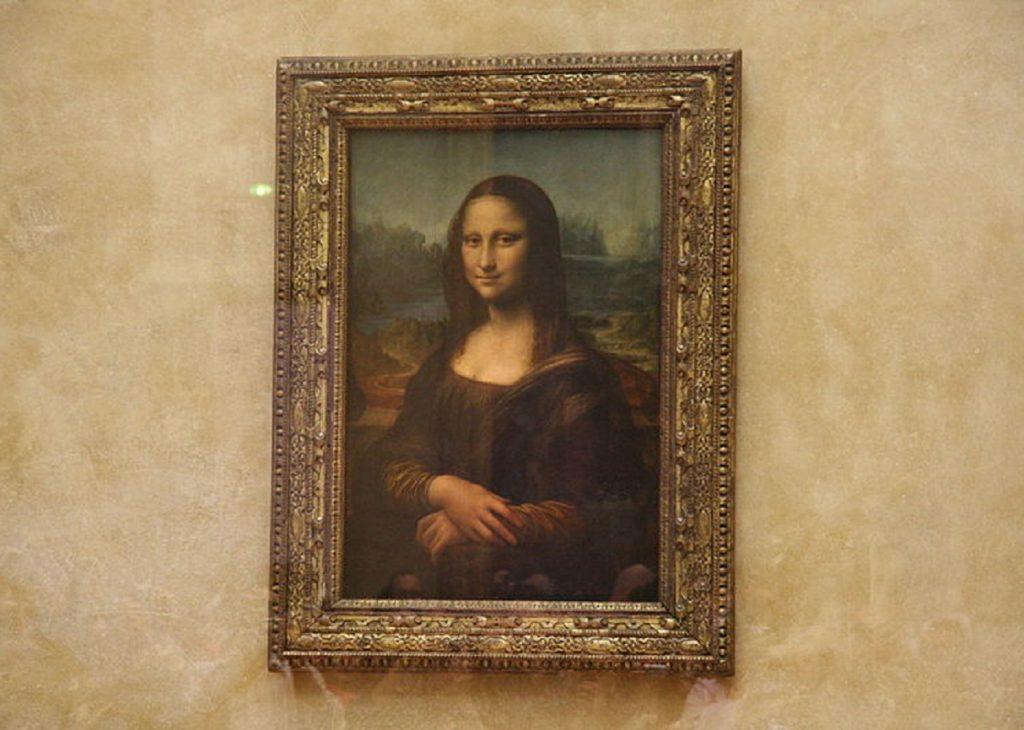 The Mona Lisa by Leonardo Da Vinci, louvre