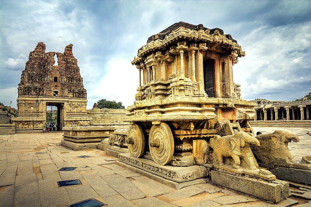Stone Chariot at Vittala Temple Hampi, Road trips from Bangalore