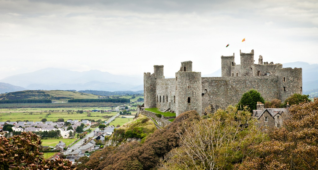 Harlech Castle, things to do in Snowdonia