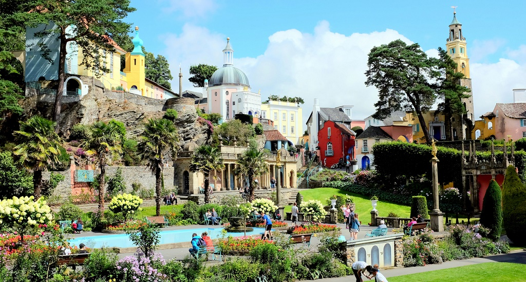 Portmeirion, Wales, UK, things to do in Snowdonia