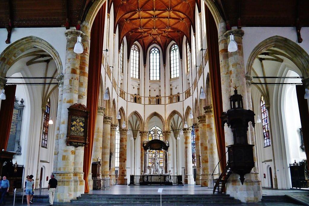 Grote of Sint-Jacobskerk the hague