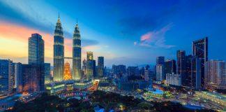 Cityscape view of Kuala Lumpur (KL) at dusk - things to do in Kuala Lumpur