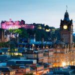 Lost in the Beauty of Edinburgh