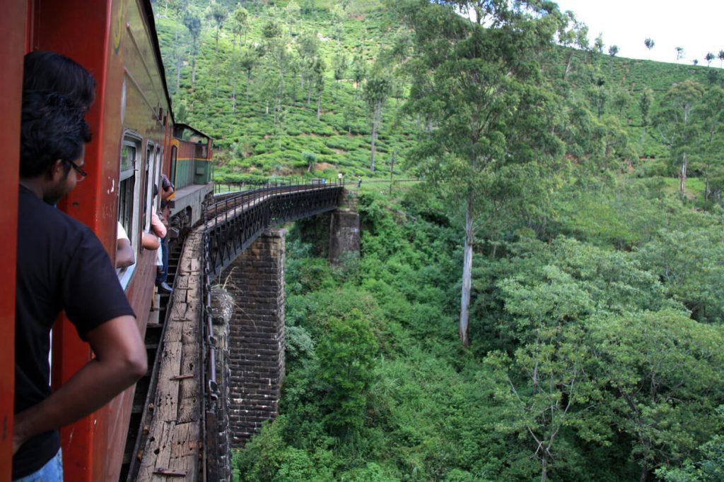 Scenic train routes, Train from Ella to Kandy, Sri Lanka