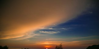Sunset by the ocean - Visit Sabah