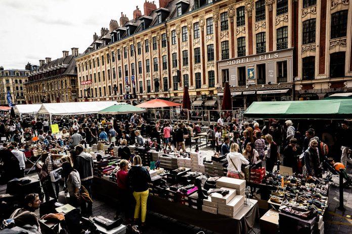 Lille flea-market