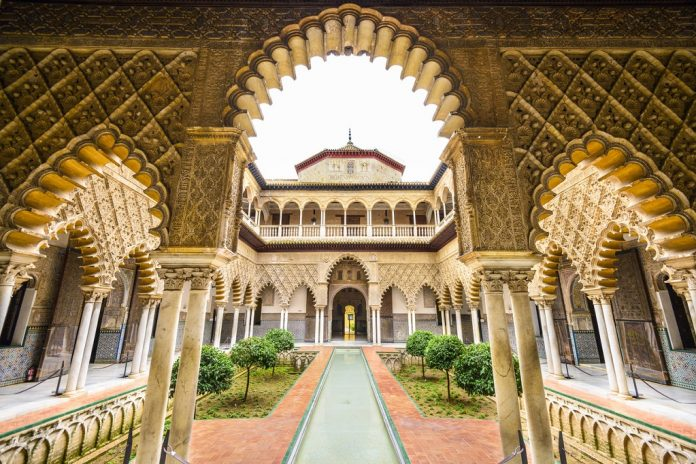 places to see in Seville The Royal Alcazar of Seville