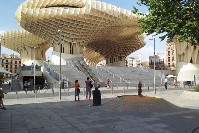Metropol Parasol places to see in seville