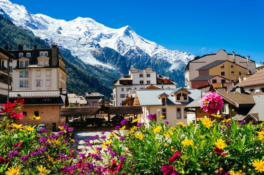 places to ski in Europe Chamonix