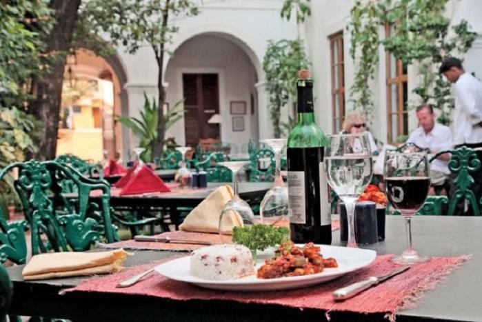 Cafe Carte Blanche Pondicherry