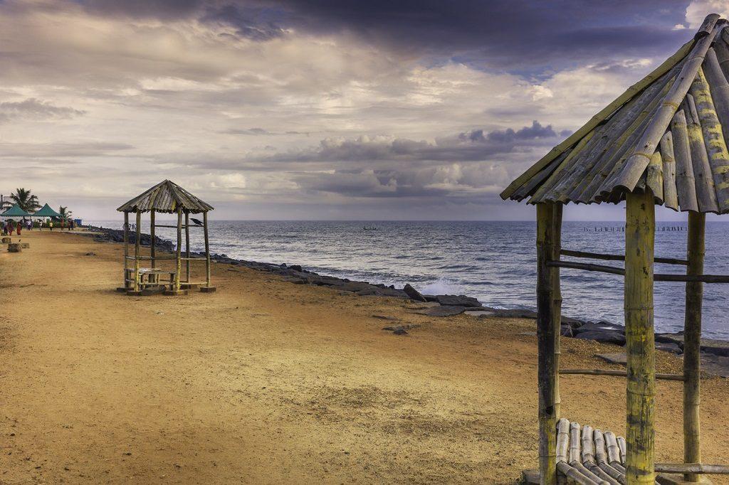 Promenade beach visit pondicherry