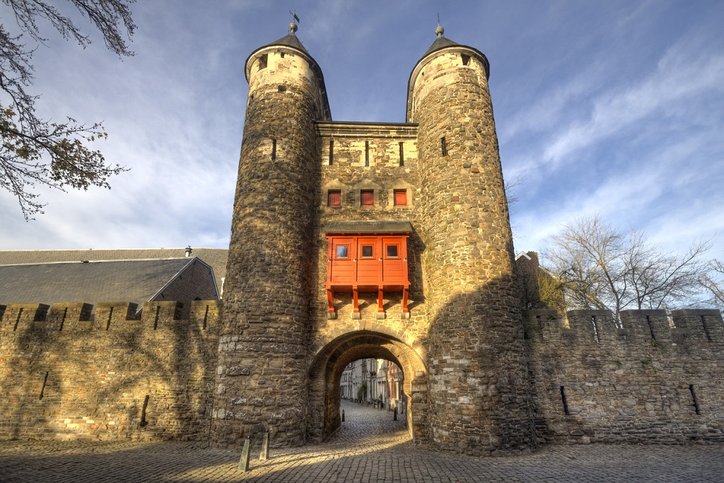 to do in Maastricht Historical city gate Helpoort