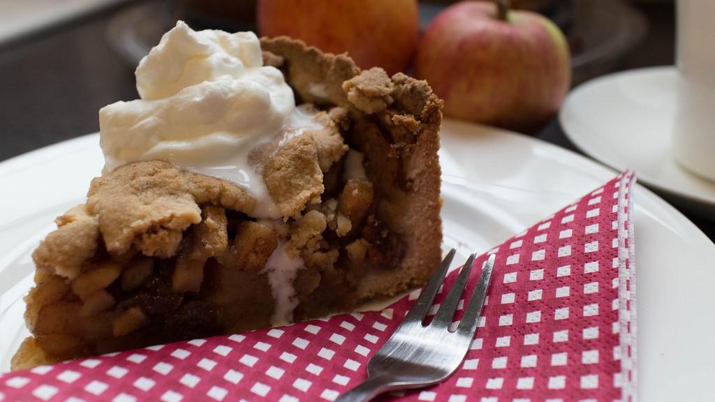 Appeltaart Dutch apple pie