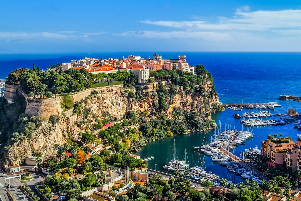 Monaco travel facts, Monte Carlo, world's smallest countries by population