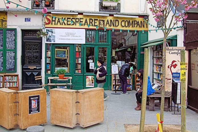 Shakespeare and Company Paris Literary Cities