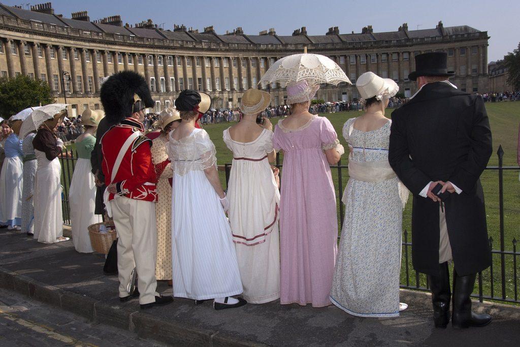 Jane Austen Festival in Bath, UK