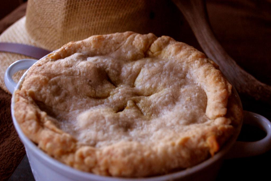 Cornish food pie