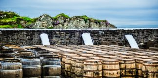 whisky barrels hebrides scotland