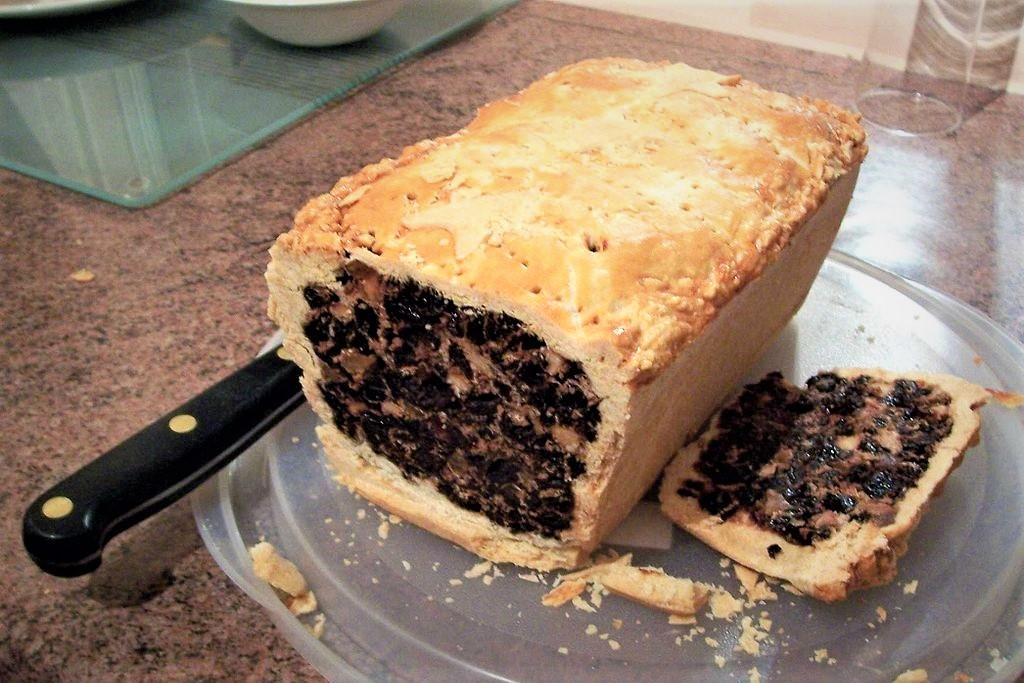 Scottish Black bun