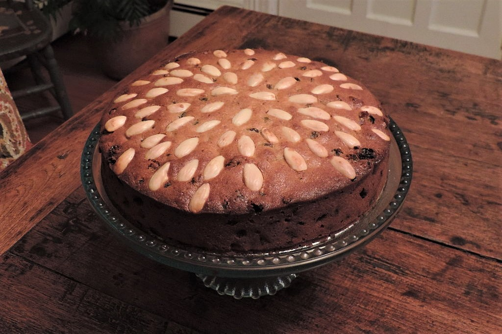 Dundee cake scottish food