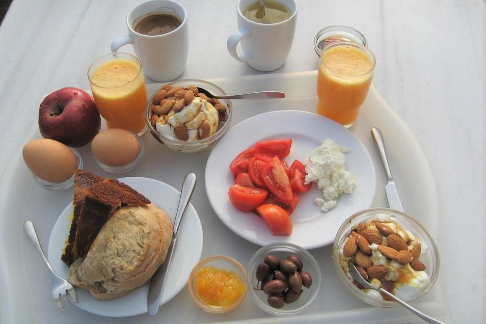 Greece Crete Breakfast around the world