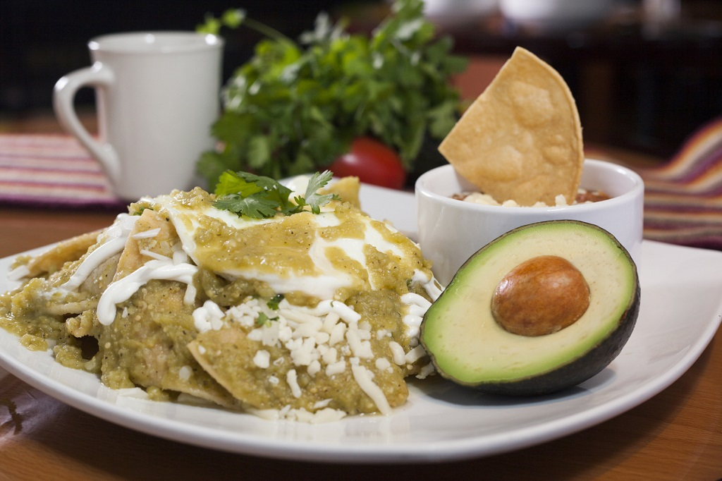 Mexican chilaquiles dish, Mexican Dishes