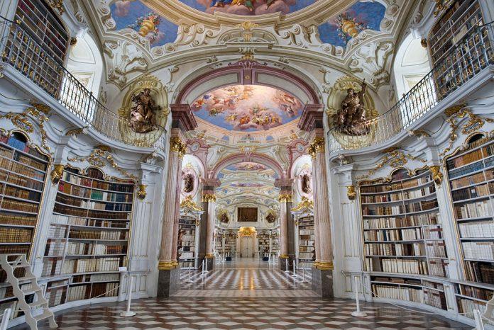 Austria Admont Abbey Library