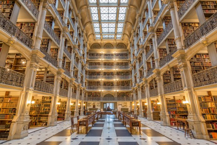 Baltimore beautiful libraries