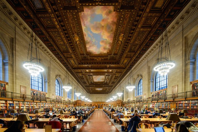 New York Public Library beautiful libraries