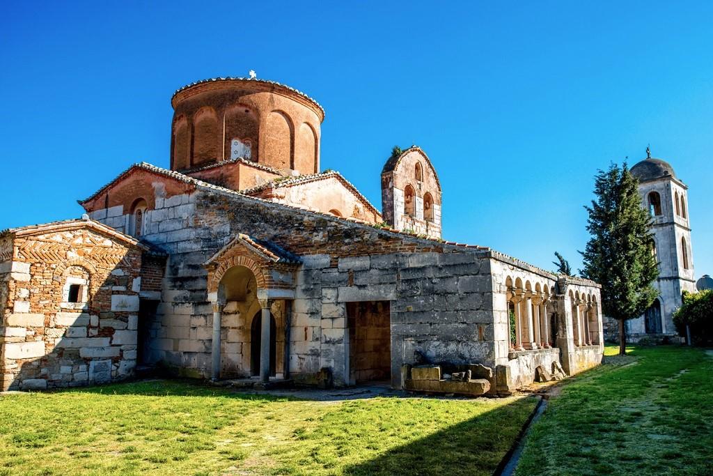 Saint Mary church in Apollonia in Albania