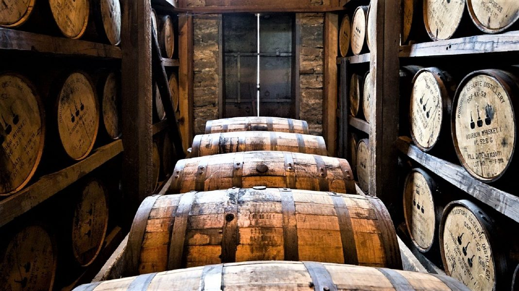 distillery-barrels Bourbon Tourism