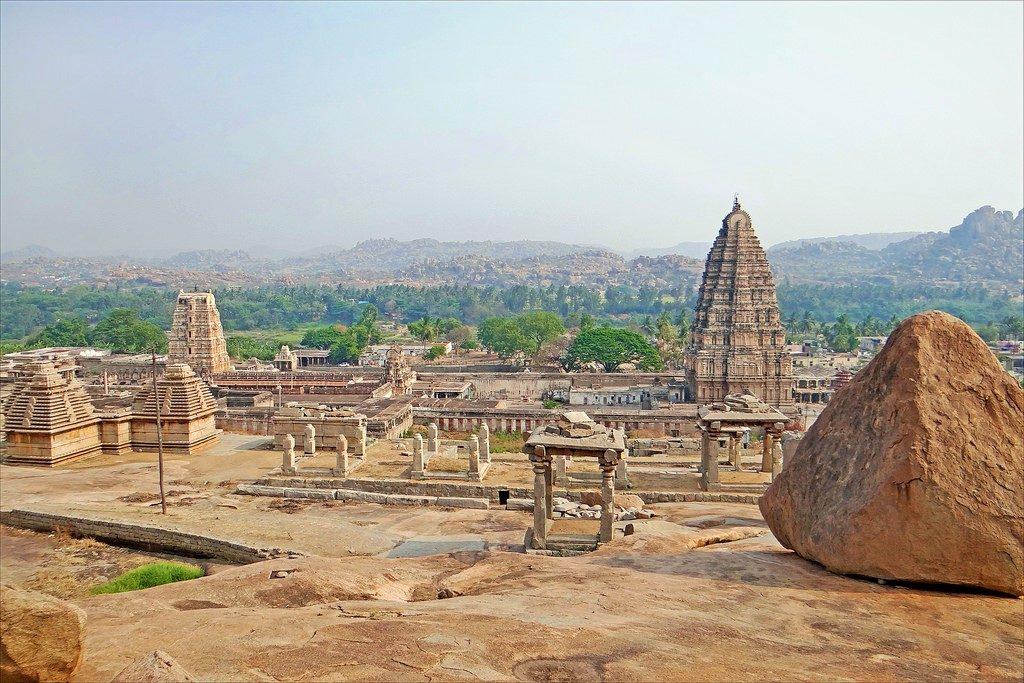 Visiting Hampi Virupaksha Temple, ancient temples in India