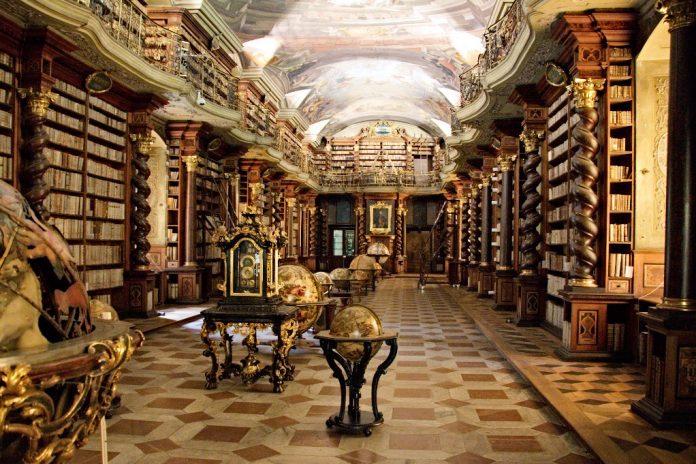 Klementinum Library Prague