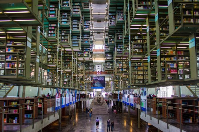 most beautiful libraries Mexico