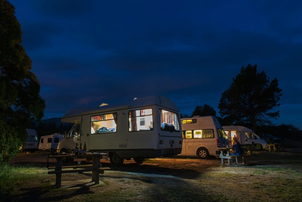 New Zealand freedom camping