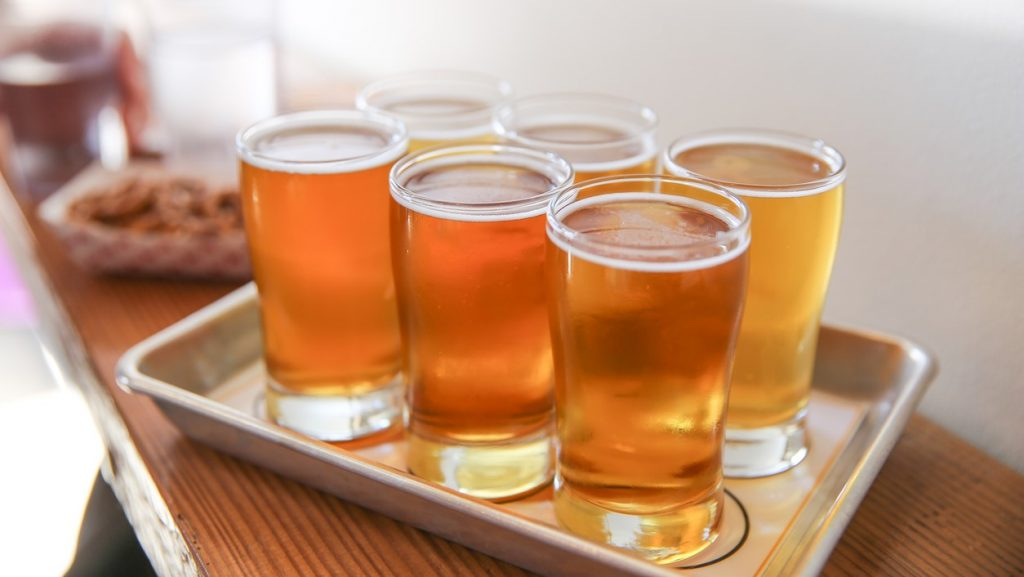 Craft Beer Tasting Flight, Best Breweries