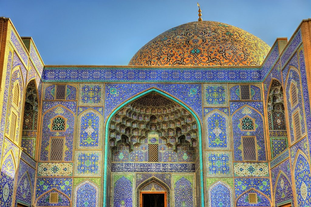 Sheikh Lotfollah Mosque on Naqsh-e Jahan Square of Isfahan, Iran