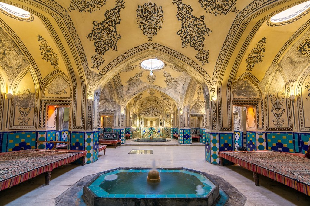 Sultan Amir Ahmed Bathhouse, Iran