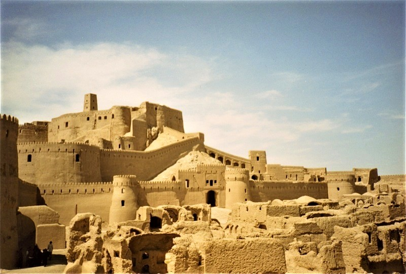 Architecture in Iran - Tower and Fort of Bam, Kerman Province