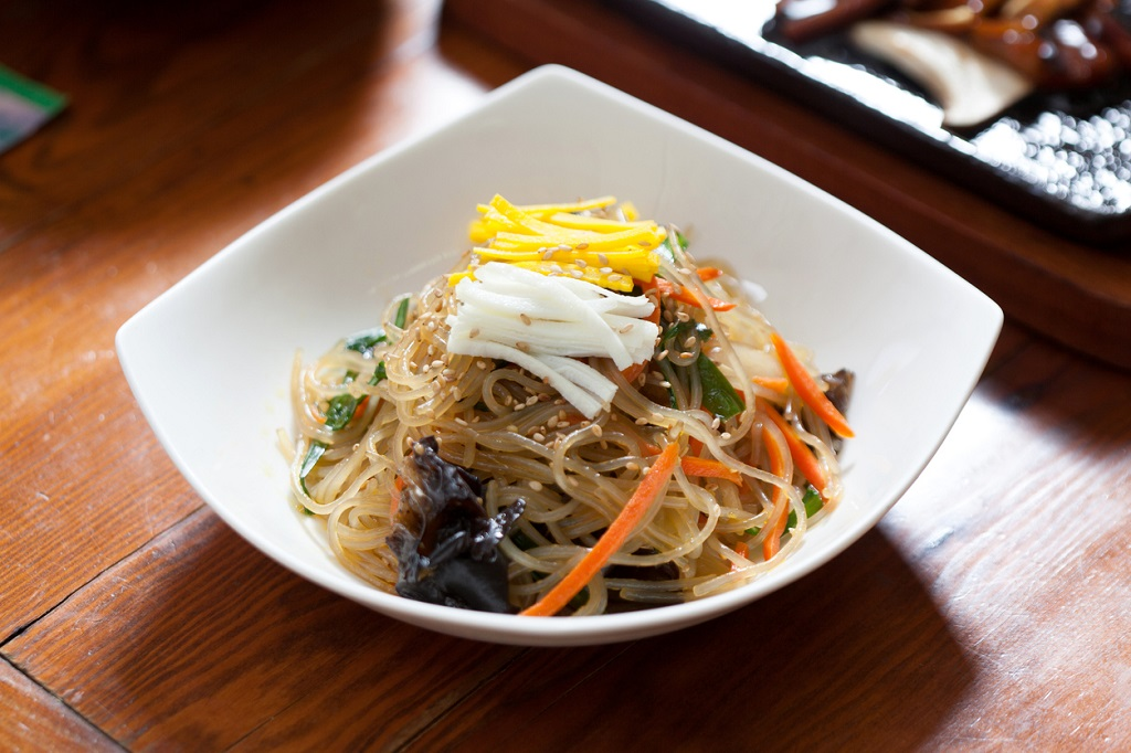 Japchae Noodles and Vegetables, Noodle Dishes