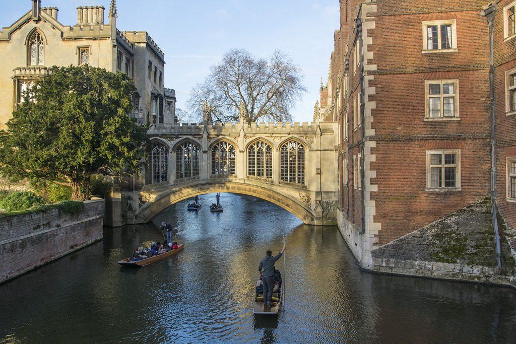 Bridge of Sighs - St John's College, Cambridge