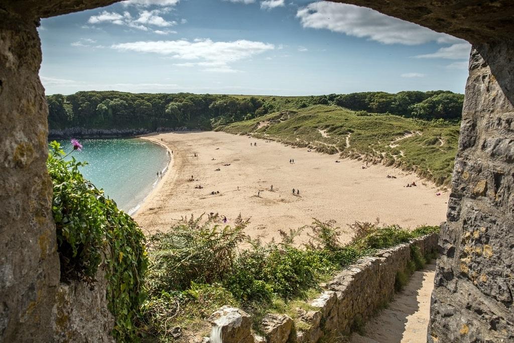 Barafundle Beach Pembrokeshire
