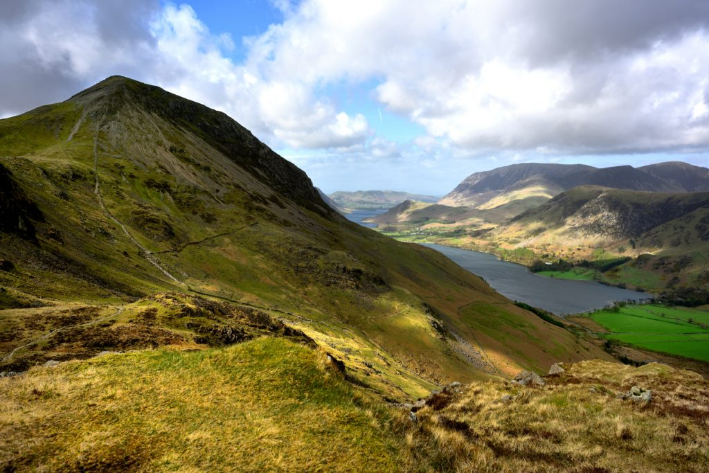 Buttermere and Whiteless Pike, most beautiful places in UK