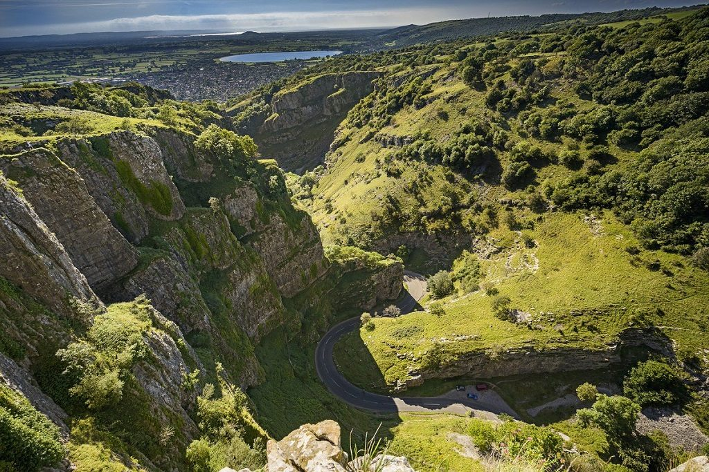 Cheddar Gorge Somerset, most beautiful places in UK