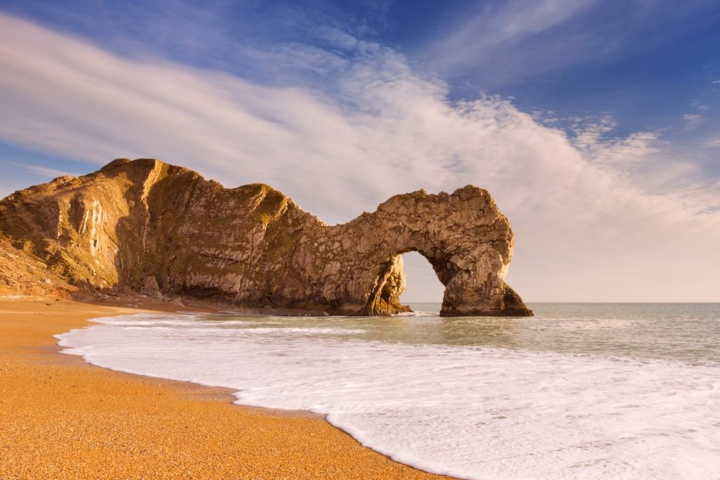 Durdle Door Dorset, most beautiful places in UK