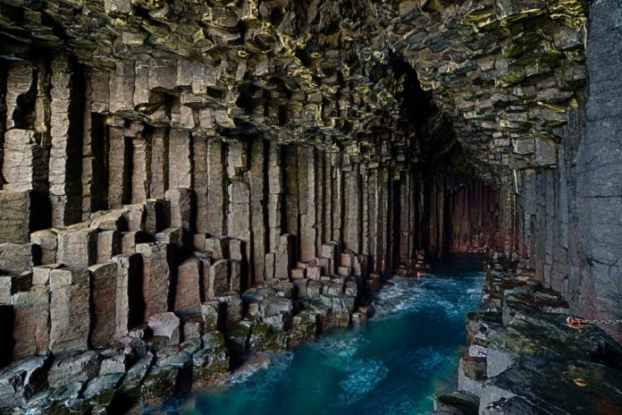 Fingals Cave Scotland Beautiful Places in the UK