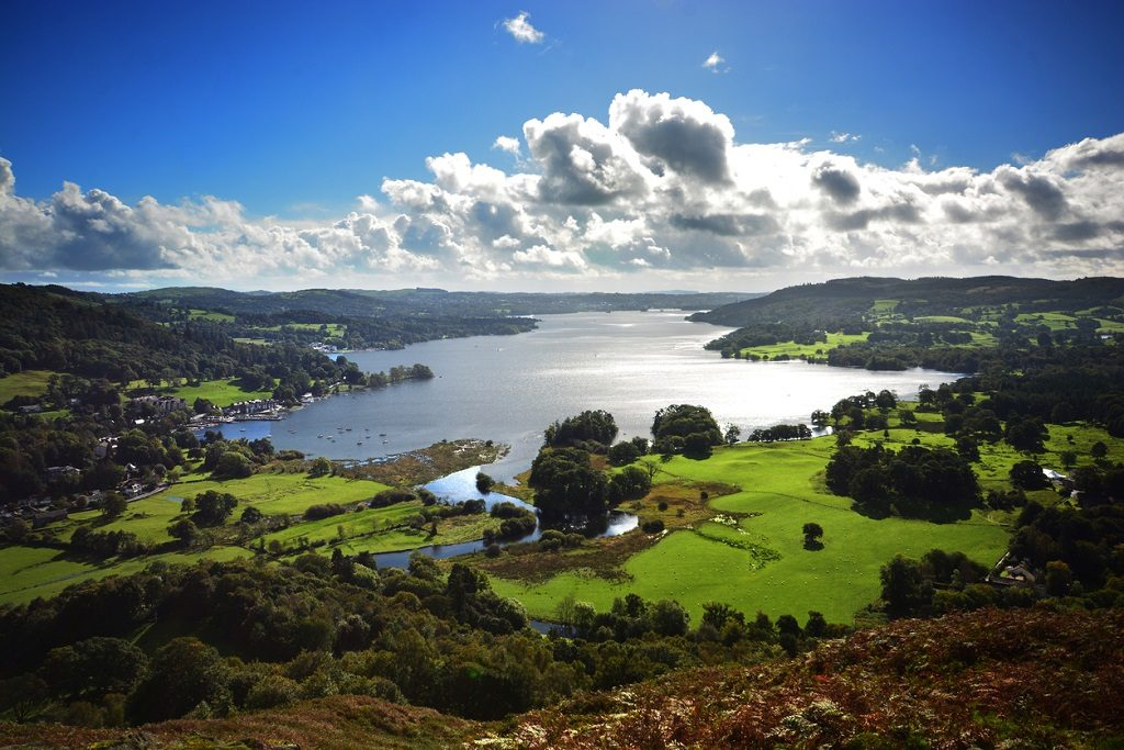 Lake Windermere, most beautiful places in UK
